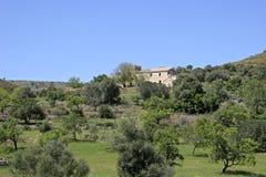 Mallorca, Balearic Islands, Spain. Finca and Landscape at Arta, Mallorca, Balearic Islands, Spain, Europe Stock Photos