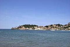 Mallorca, Balearic Islands, Spain. Look at port de Soller, Mallorca, Balearic Islands, Spain, Europe Stock Image