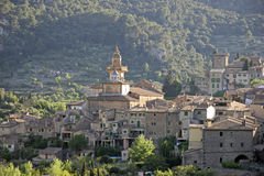 Mallorca, Balearic Islands, Spain. Look at Valldemossa, Mallorca, Balearic Islands, Spain, Europe Stock Image