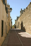 Mallorca, Balearic Islands, Spain. Old town of Alcudia, Mallorca, Balearic Islands, Spain, Europe Stock Photography