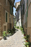 Mallorca, Balearic Islands, Spain. Old town alley in Soller, Mallorca, Balearic Islands, Spain, Europe Stock Photos