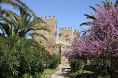 Mallorca, Balearic Islands, Spain. Porta de Sant Sebastia in Alcudia, Mallorca, Balearic Islands, Spain, Europe Stock Photo