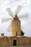 Mallorca, Balearic Islands, Spain. Tapical Windmill on Mallorca, Balearic Islands, Spain, Europe Stock Photography