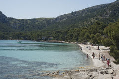 Mallorca beach landscape Royalty Free Stock Photos