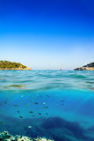 Mallorca beach S`Amarador Royalty Free Stock Photo