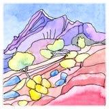 Mallorca-Berge Stockbilder