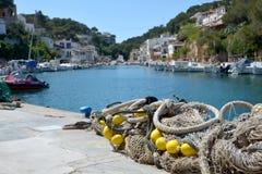 Mallorca, Cala Figuera. Mallorca, Spain. Mallorcais island. Fisherman village Cala Figuera in Mallorca, Spain Stock Photos