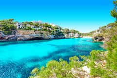 Mallorca Cala Santanyi beach Spain