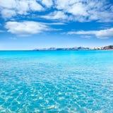Mallorca Can Picafort beach in alcudia bay Majorca Stock Photos