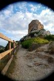 Mallorca Carbera slott, Spanien Arkivbild