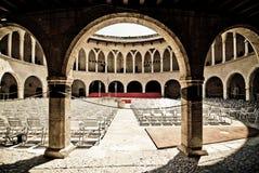 Mallorca castle Stock Image