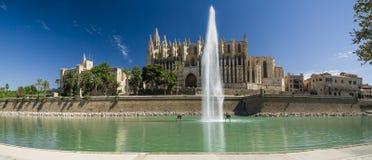 Mallorca, Catedral. Palma de Mallorca, The bigest Catedral Stock Photography