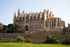 Mallorca cathedral. A photo of Palma de mallorca cathedral Royalty Free Stock Image