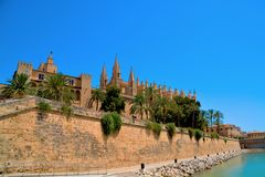 Mallorca cathedral Royalty Free Stock Photography