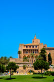 Mallorca cathedral. Beautiful Cathedral designed in the French Gothic style, Palma de Mallorca, Spain Stock Photo