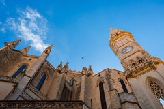 Mallorca Cathedral exterior Royalty Free Stock Photo