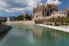 Mallorca Cathedral. Main sight of Palma - Mallorca Cathedral Stock Image