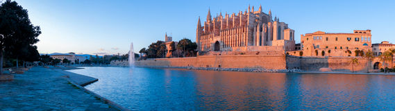 Mallorca Cathedral Royalty Free Stock Photos