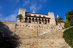 Mallorca cathedral. Part of Mallorca cathedral, in Palma de Mallorca, Spain Stock Photos