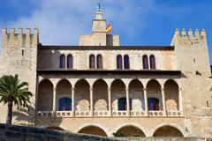 Mallorca cathedral. Part of Mallorca cathedral, in Palma de Mallorca, Spain Stock Image