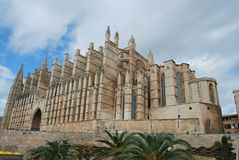 Mallorca cathedral Stock Image