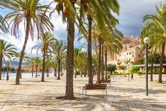 Mallorca city, Balearic Islands Royalty Free Stock Images