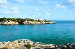 Mallorca coast. View of Mallorca coast, balearic islands, Spain royalty free stock photography