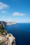 Mallorca coast view Spain Stock Photos