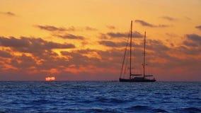 Mallorca es trend beach sunset in Mallorca at Balearic islands stock video