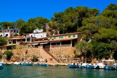 Mallorca habour sceneria Zdjęcie Royalty Free