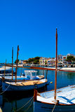 Mallorca habour scenery Stock Images