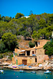 Mallorca habour scenery Royalty Free Stock Photography