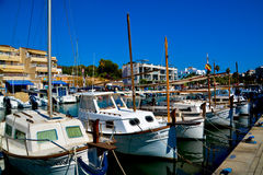 Mallorca habour scenery Royalty Free Stock Images