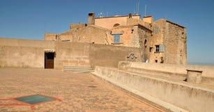 Mallorca, Heiligdom San DE Salvador Stock Afbeelding