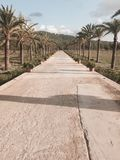 In Mallorca-Herzen stockfoto