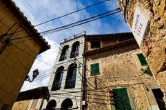 Mallorca House. Street Shot Valldemossa in Mallorca Stock Image