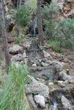Mallorca-Insel Wasserfall Lizenzfreies Stockbild