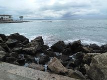 Mallorca island. This is Mallorca island, ciclogenesis explosiva Royalty Free Stock Photo