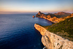 Mallorca island. Greetings from Mallorca, the beautiful island in Spain Stock Images