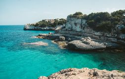 Mallorca Island is the largest of the Balearic Islands. Which belongs to Spain. You will find many sandy beaches and a pleasant Mediterranean climate that is Stock Images