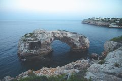 Mallorca Island is the largest of the Balearic Islands. Which belongs to Spain. You will find many sandy beaches and a pleasant Mediterranean climate that is Royalty Free Stock Photography
