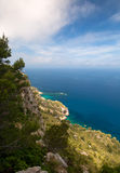 Mallorca island Spain Mediterranean. View Royalty Free Stock Photography