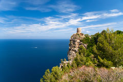 Mallorca island Spain Mediterranean. View Royalty Free Stock Image