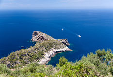 Mallorca island Spain Mediterranean. View Royalty Free Stock Images