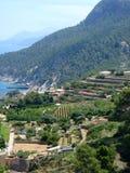 Mallorca island Spain Mediterranean. View Royalty Free Stock Photos