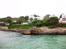 Mallorca isola-Spagna Fotografie Stock Libere da Diritti