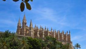 Mallorca-Kathedrale Lizenzfreie Stockfotografie