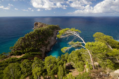 Mallorca Landscape Royalty Free Stock Photography