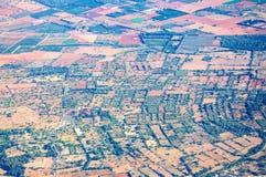 Mallorca landscape pattern Stock Images