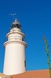 Mallorca, Majorca, Balearic Islands, Spain, Capdepera, iighthouse. The Capdepera Lighthouse on June 6, 2012. The Capdepera Lighthouse marks the channel Stock Photography
